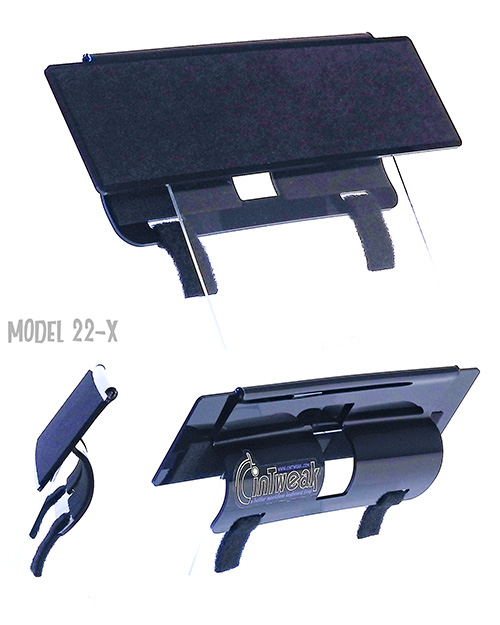 CinTweak 24-Xpro Extended Keyboard Tray for use with the Wacom Cintiq 22 tablet and extended keyboards